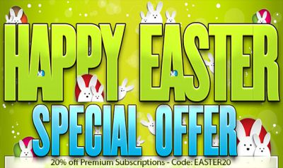 Easter Special: 20% Discount for Premium Subscriptions