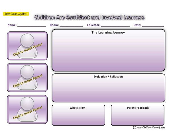 Pretty Eylf Programming Templates Pictures >> Service Plan Templates ...