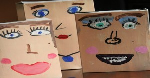 Cereal Box Self Portraits