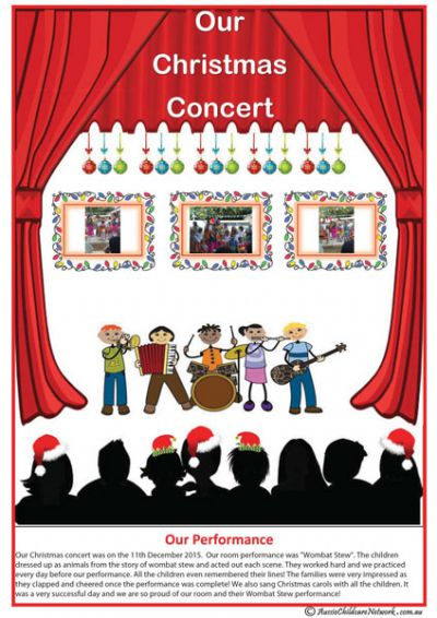 Christmas Concert Template