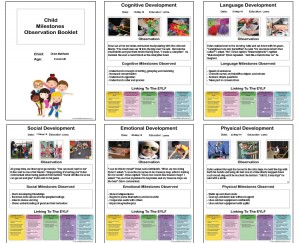 Milestones Observation Booklet