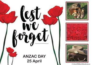 ANZAC Day Portfolio Template
