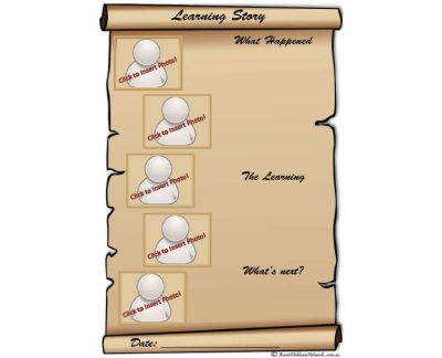 Learning Story Scroll