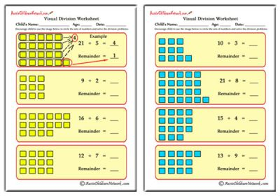 math worksheet : displaying items by tag long vowels worksheets  aussie childcare  : Visual Division Worksheets