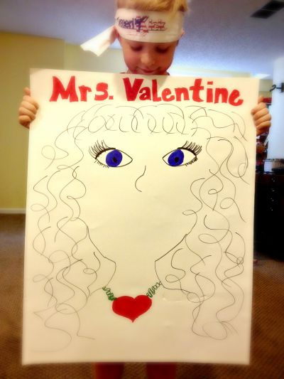 Pin The Lips On Mrs Valentine