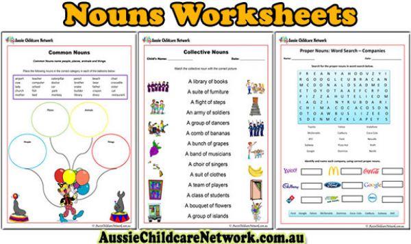 Introducing new noun worksheets for children aussie childcare network ibookread ePUb
