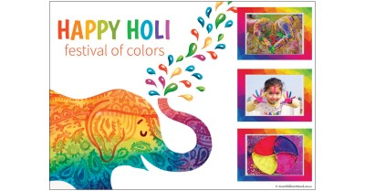 Happy Holi - Portfolio Template