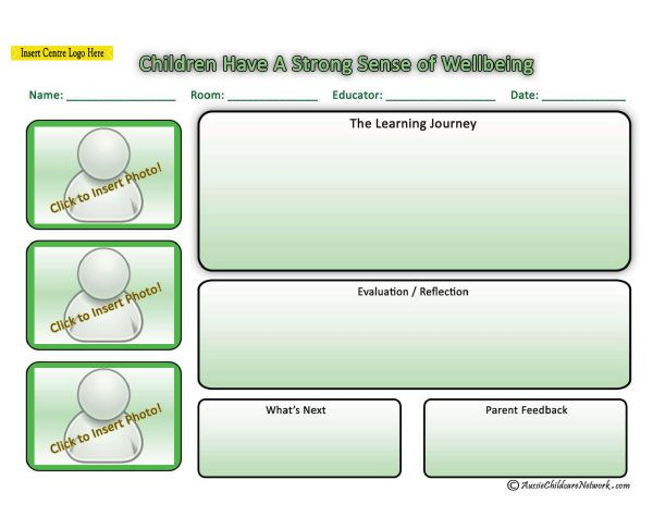 how to create a learning outcome for a child