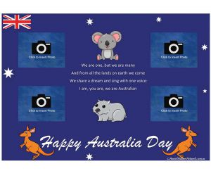displaying items by tag australia day templates aussie childcare