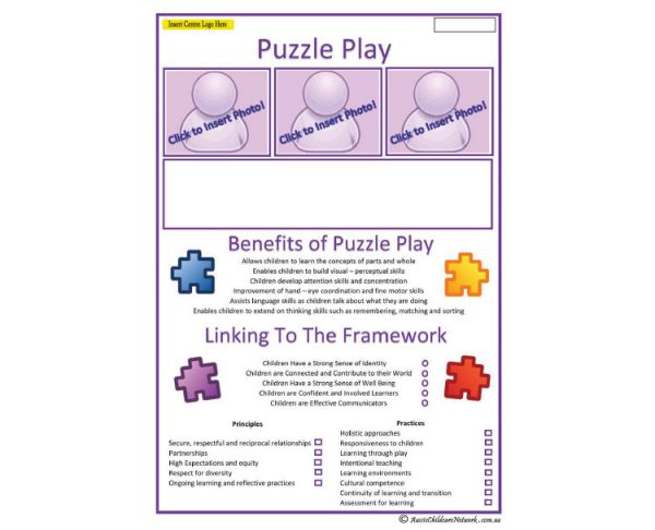 Interest Area - Puzzle Play