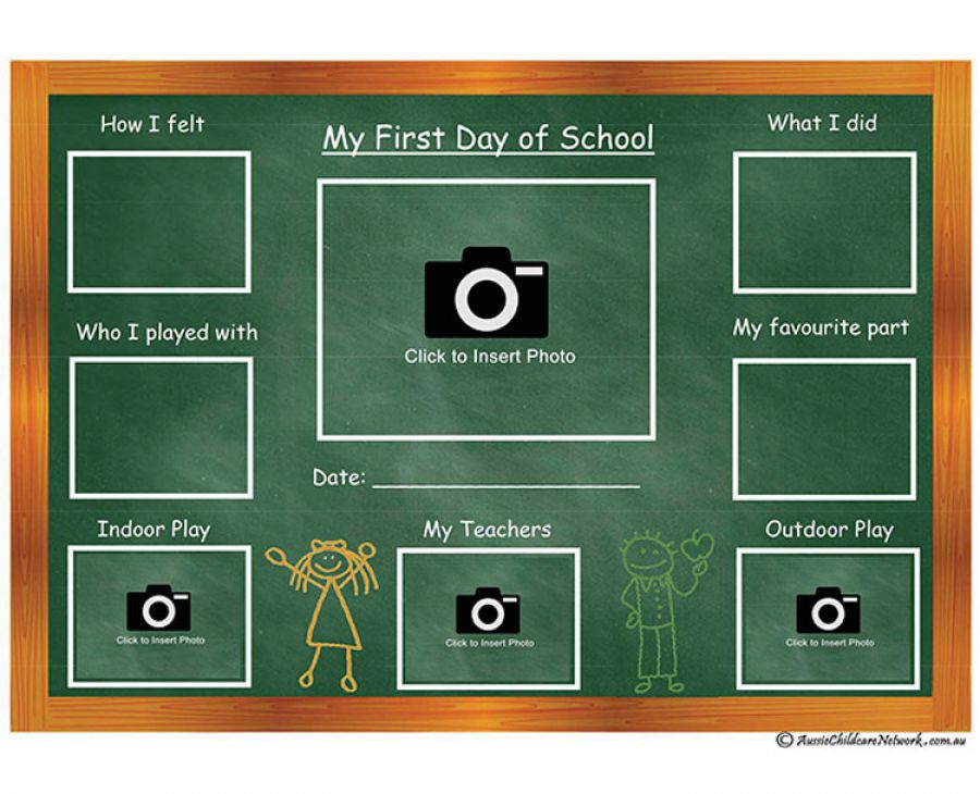 first day of school aussie childcare network. Black Bedroom Furniture Sets. Home Design Ideas