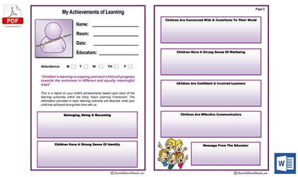 my achievements of learning report