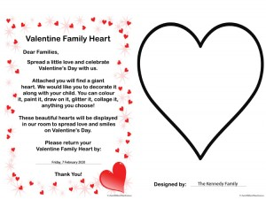 Valentine Family Heart