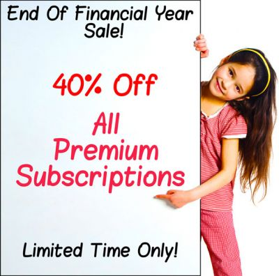 40% Off Premium Templates - End Of Financial Year Sale!!