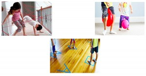 Gross Motor Indoor Games