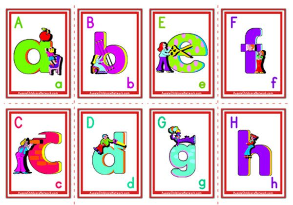 D Alphabet Letters Seed