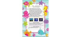 Learning Story Ocean Template