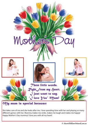 Mother's Day Portfolio Template