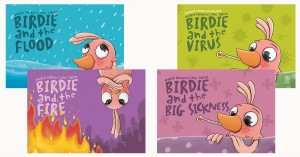 Birdie Storybooks On Natural Disasters
