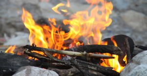 Childcare Service Allowing Children To Light Fires