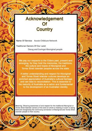 National Reconciliation Week Template