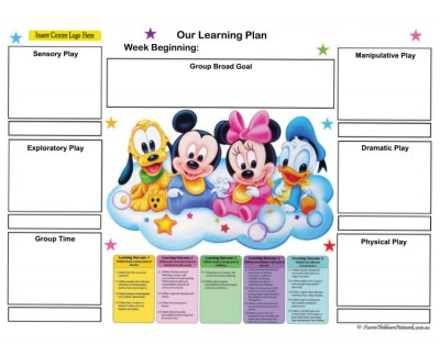 Weekly Learning Plan