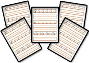 Cursive Writing Worksheets Now Available