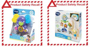 Product Safety Recall - Vtech Travel Mobile and Elephant Rattle