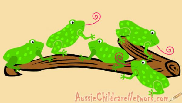 Five Little Speckled Frogs Aussie Childcare Network