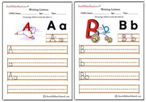 Writing Alphabet - Classic Theme