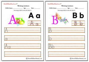 Writing Alphabet - Elegant Theme