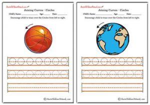 Tracing Circles Worsheets